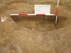 Obr. 3. St. Jesečany. objekt 43 – sídlištní objekt